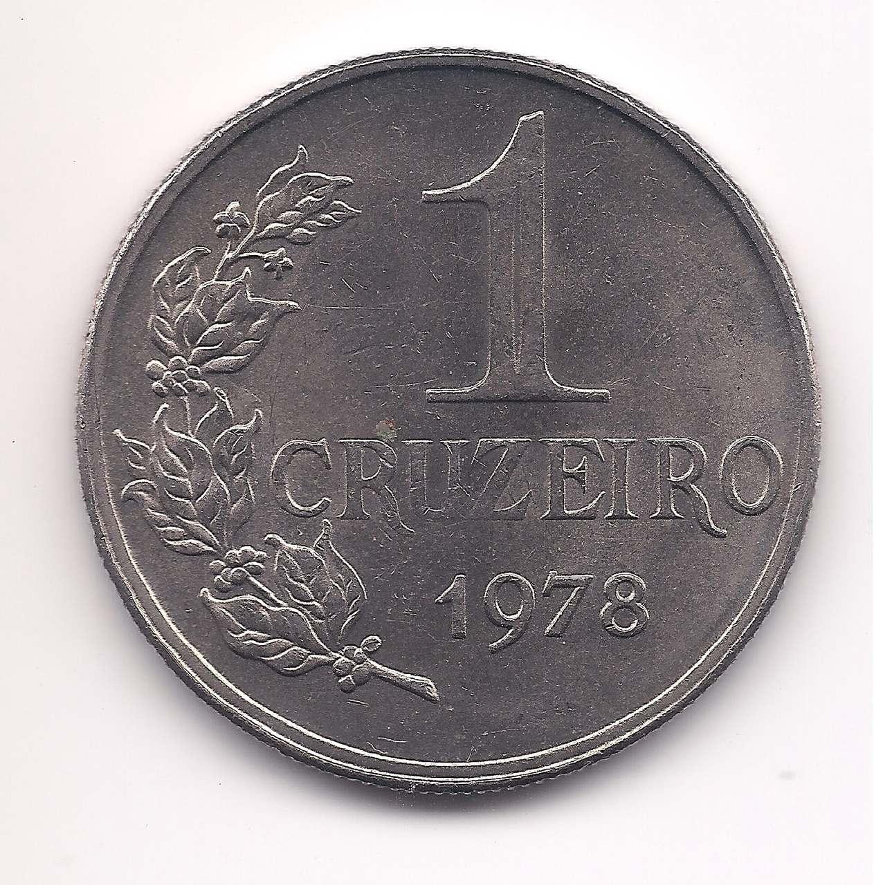 1 Cruzeiro 1978 - Escassa