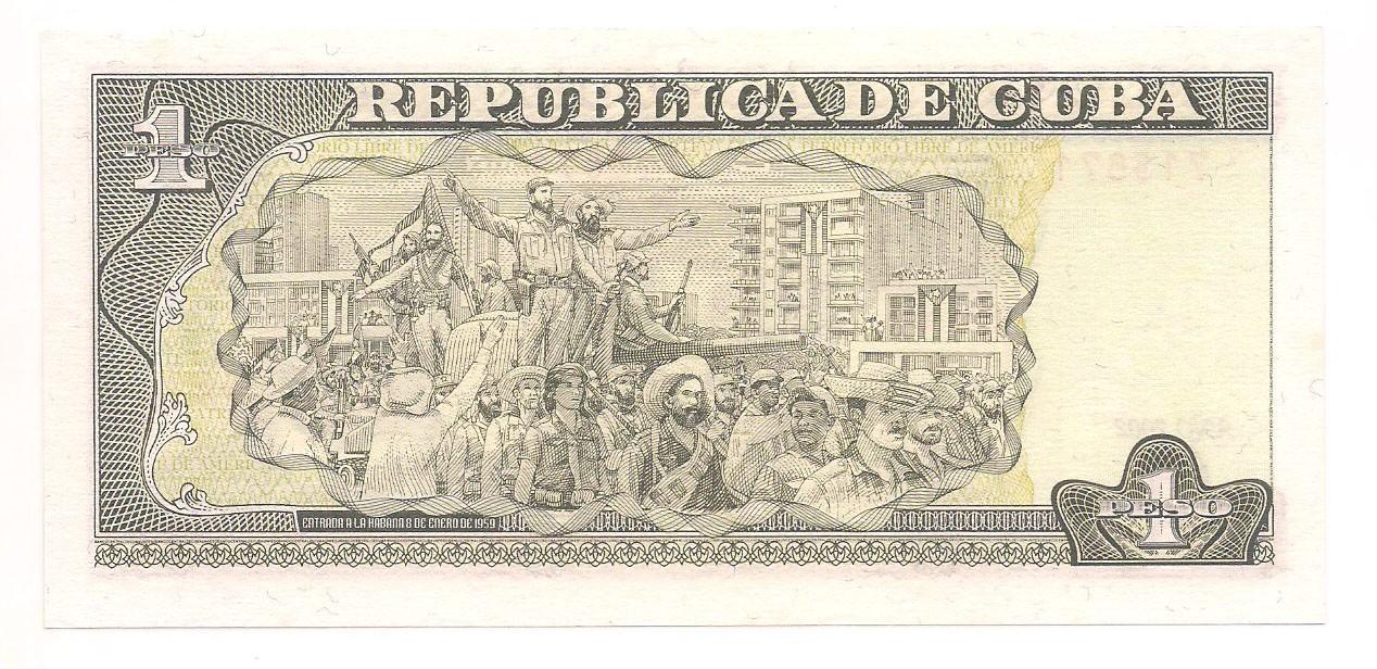 Cuba - 1 Peso (Jose Marti) 2002