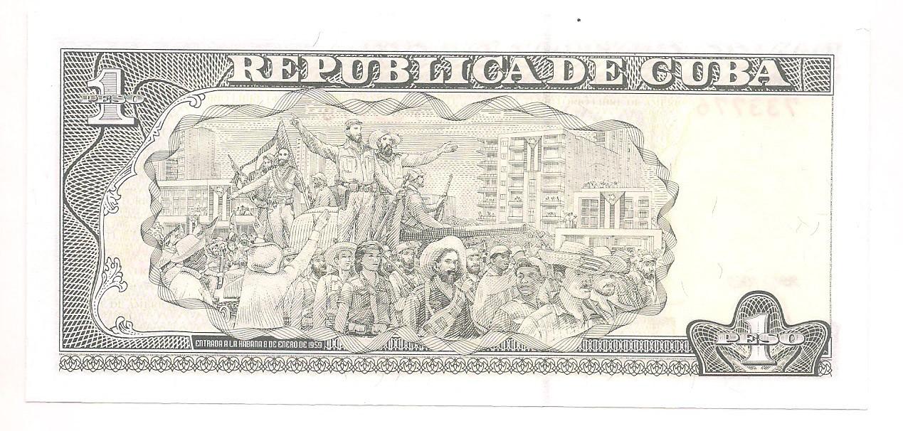 Cuba - 1 Peso (Jose Marti) 2009