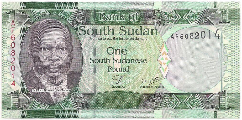 Sudão - 1 Pound (Dr. John Garang de Mabior)