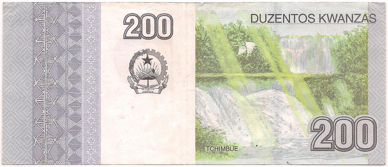Angola - 200 Kwanzas 2012