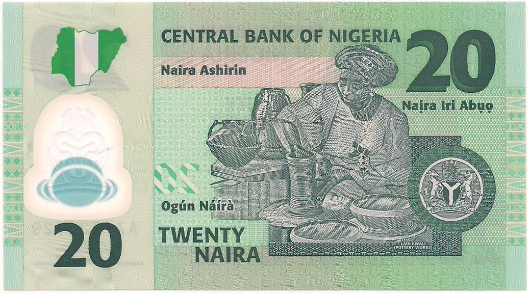 Nigéria - 20 Naira (Gen. Murtala R. Muhammed) 2006
