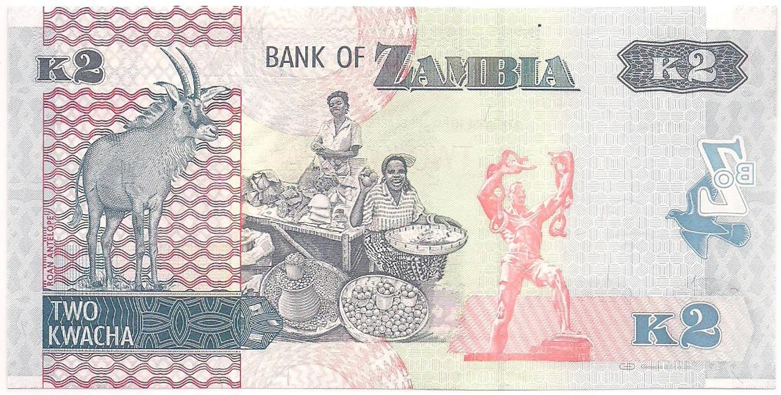 Zâmbia - 2 Kwacha FE 2012