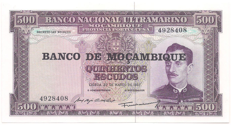 Moçambique - 500 Escudos FE 1967