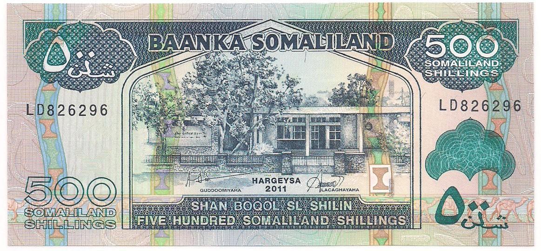 Somália - 500 Somaliland Shilling 2011