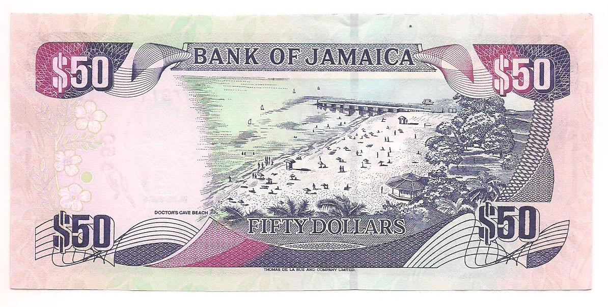 Jamaica - 50 Dólares 2005