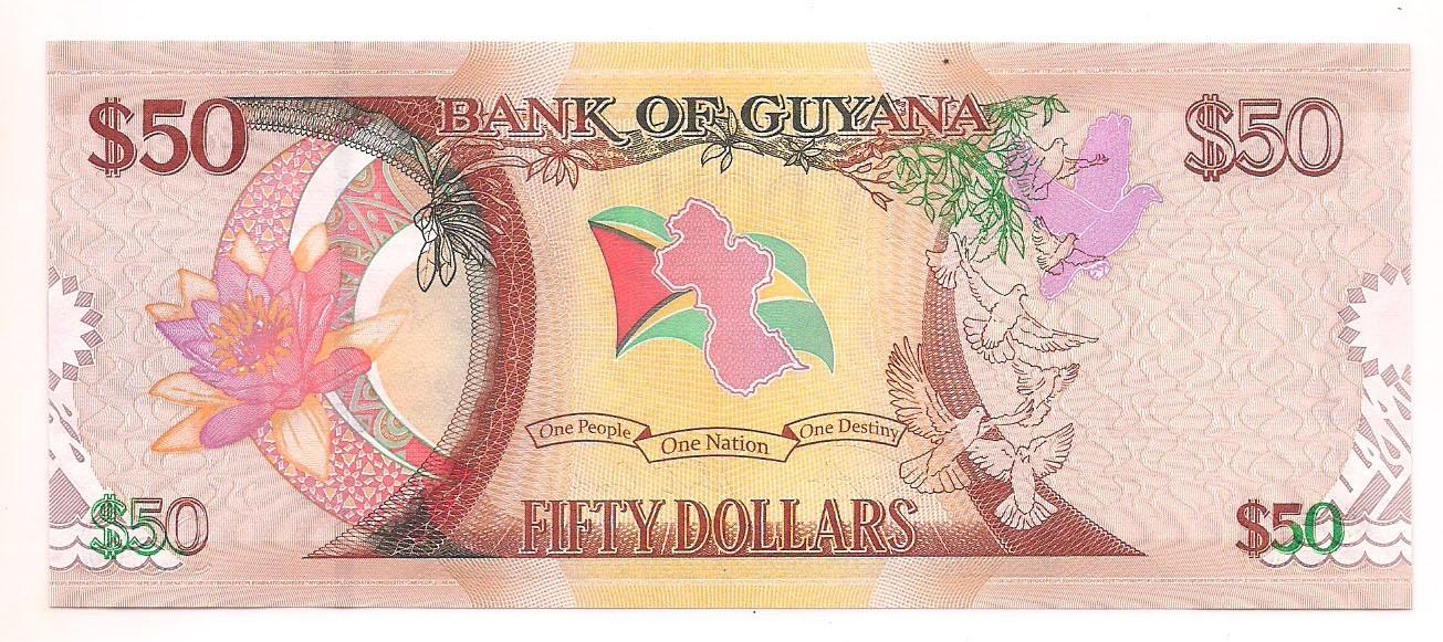 Guiana - 50 Dólares 2016
