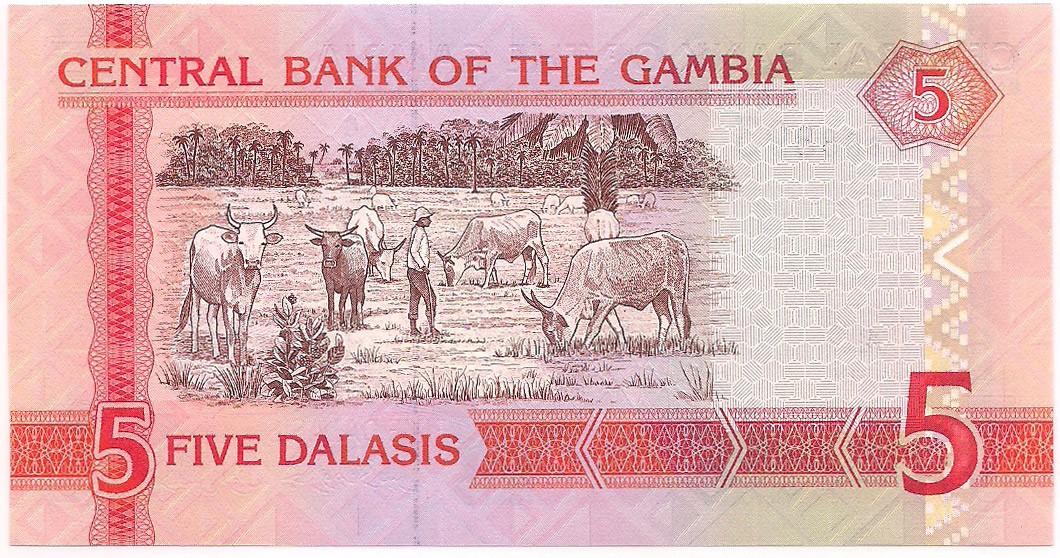 Gâmbia - 5 Dalasis