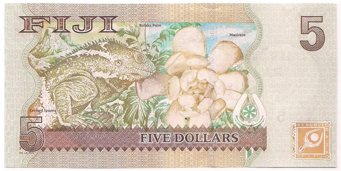 Fiji - 5 Dollars