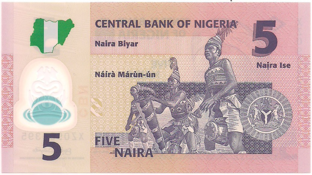 Nigéria - 5 Naira FE 2009