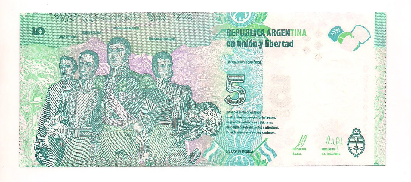 Argentina - 5 Pesos