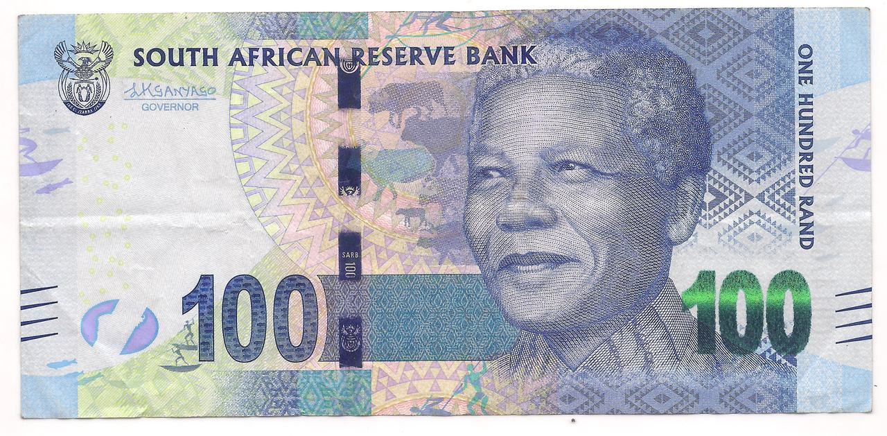 África do Sul - 100 Rand