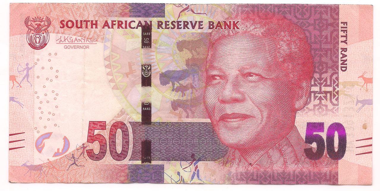 África do Sul - 50 Rand