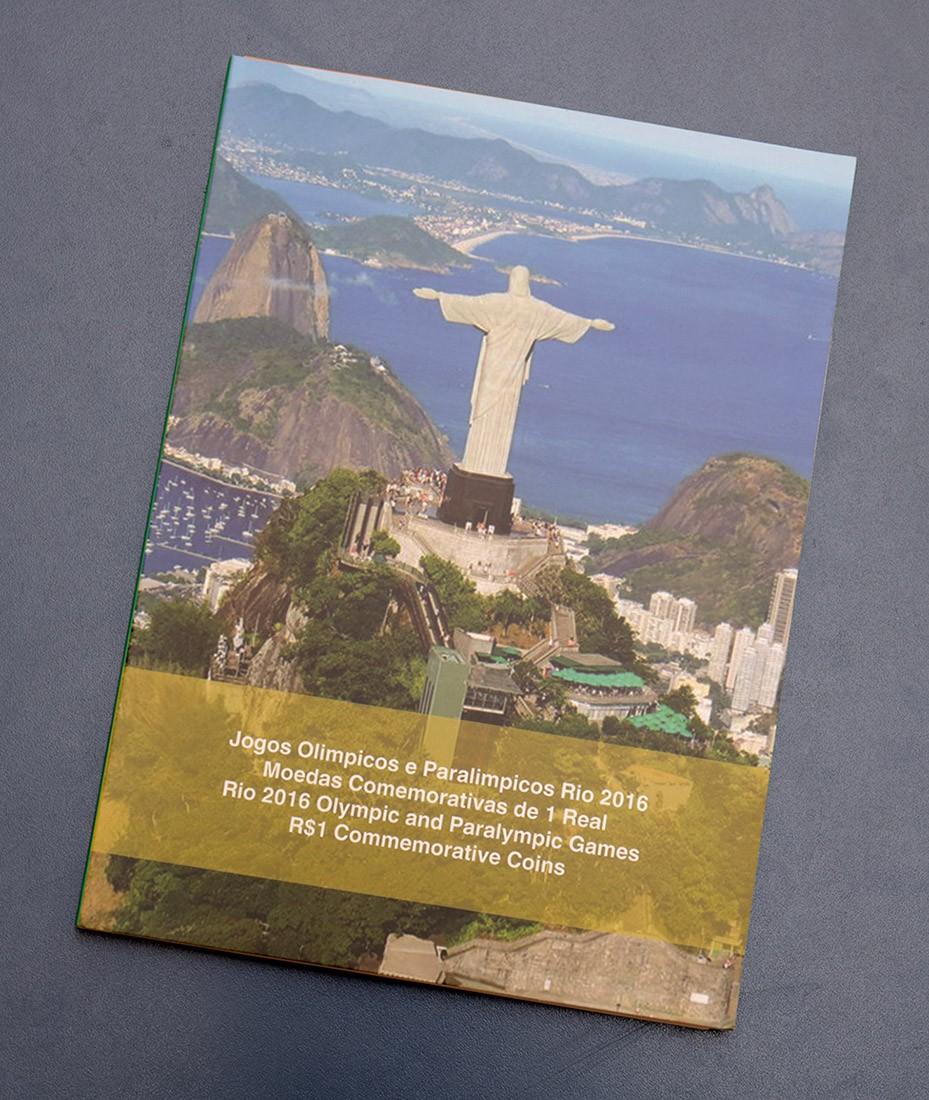Álbum Olimpíadas Rio 2016 C/ 16 cápsulas