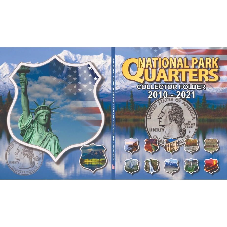 Álbum para Coleção EUA 1/4 Dolar Parques