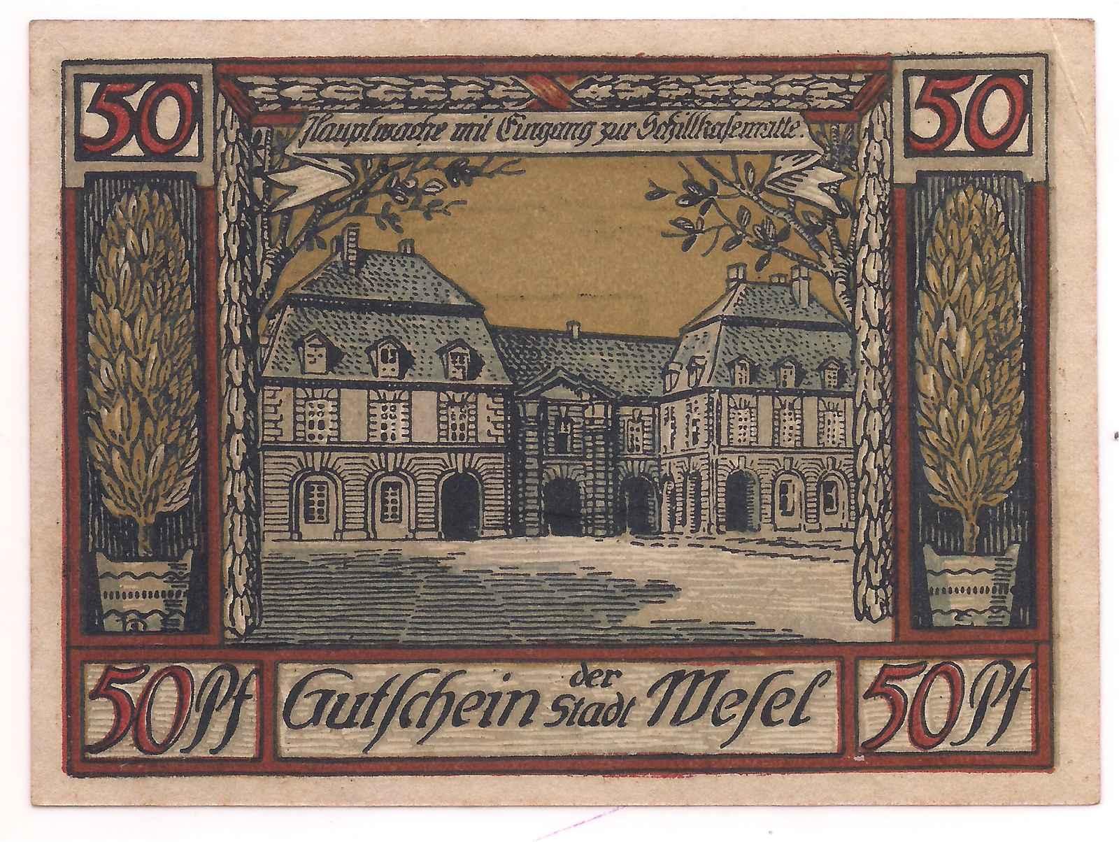Alemanha - 50 Pfennig 1921
