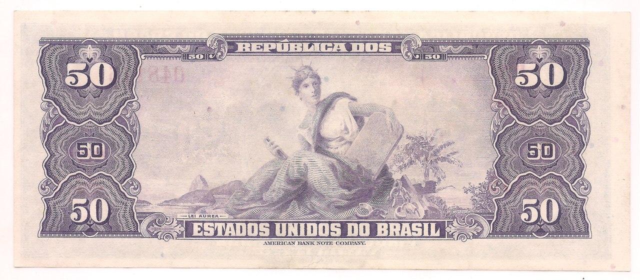 C-028 - 50 Cruzeiros 1961
