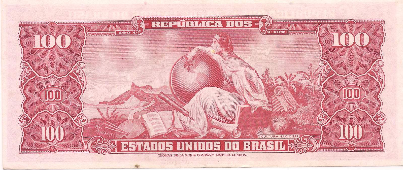 C-096 - 100 Cruzeiros (Dom Pedro II) 1963