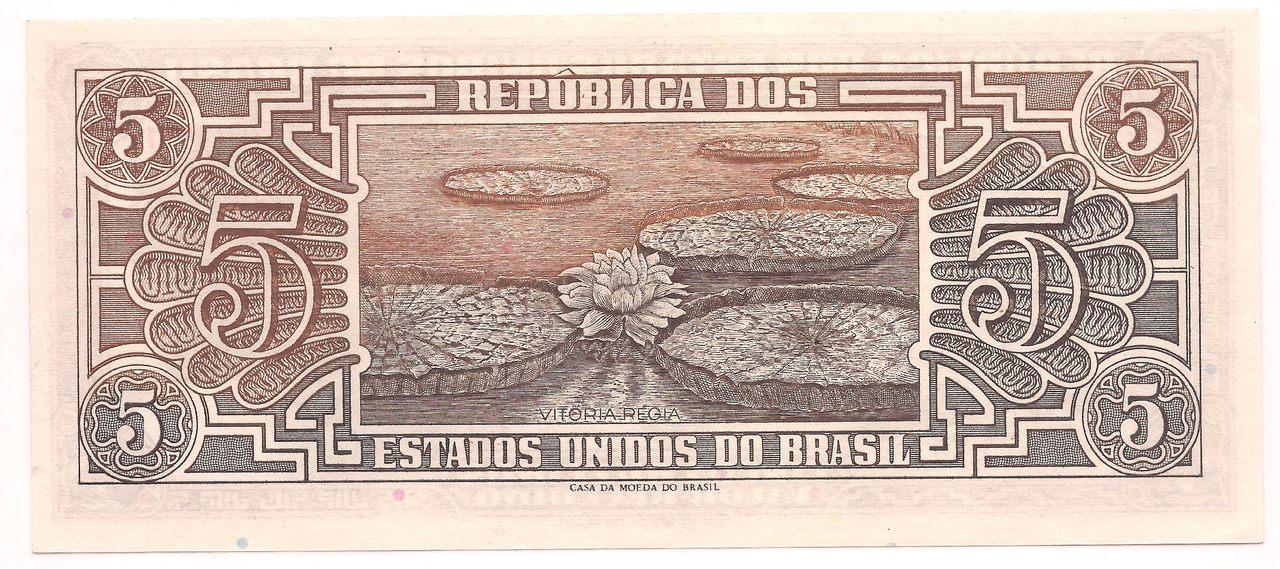 C.112 - 5 Cruzeiros 1962 (Série Índio) - Escolha nas Variações