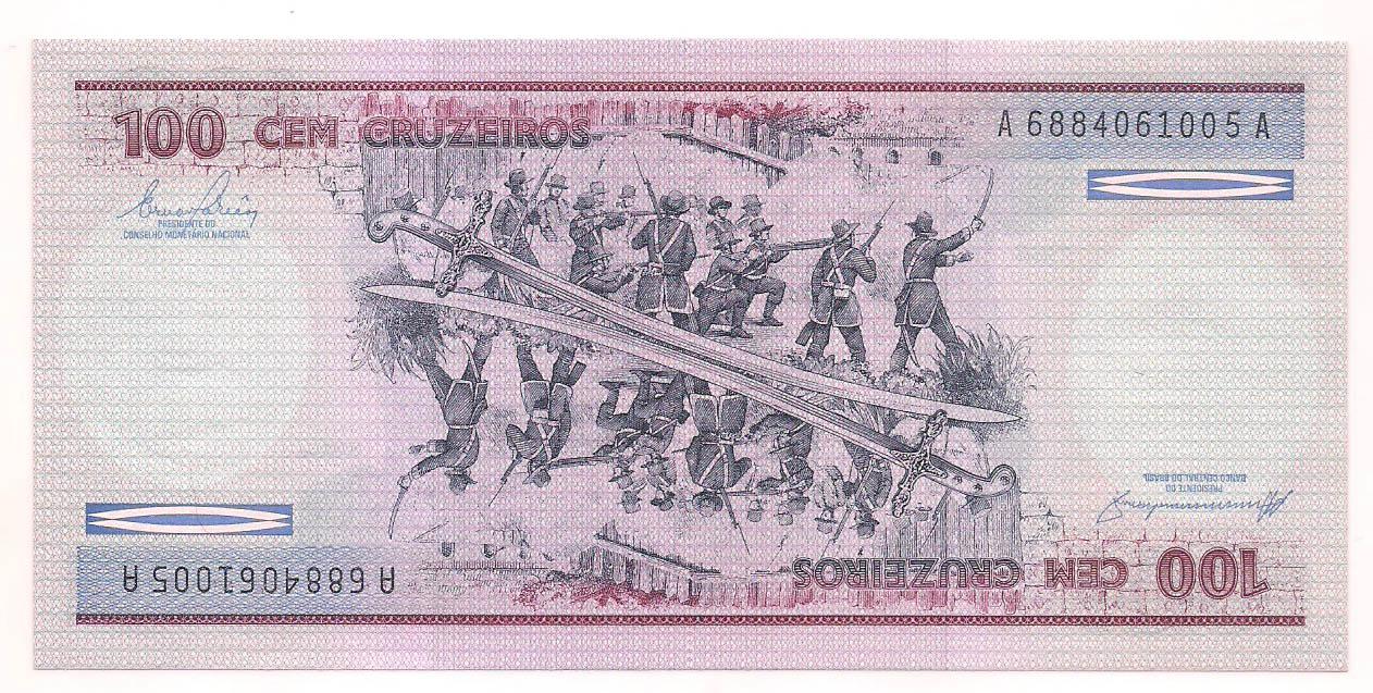C-157 100 Cruzeiros 1984 FE