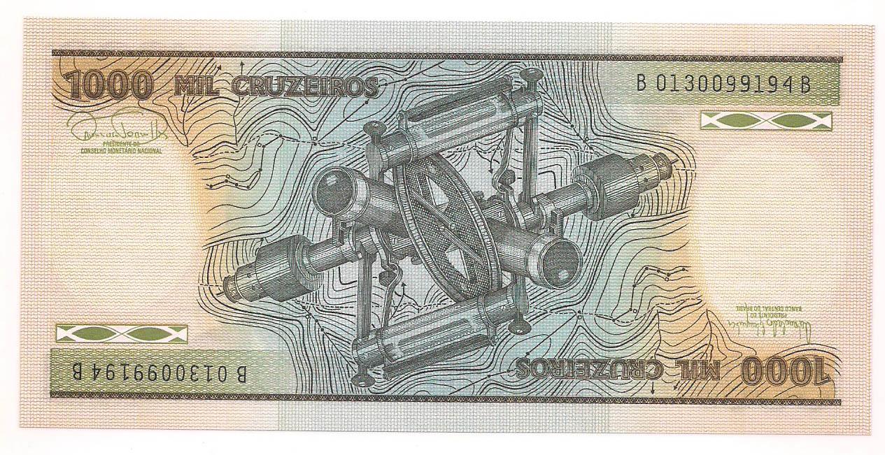 C-165 1000 Cruzeiros FE -1986