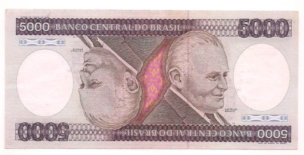 C-168 5000 Cruzeiros - 1984