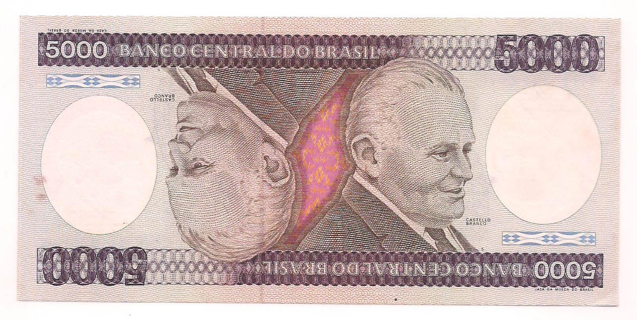 C-168 5000 Cruzeiros FE - 1984