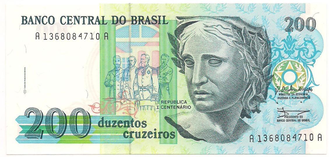 C-215 200 Cruzeiros - FE 1990