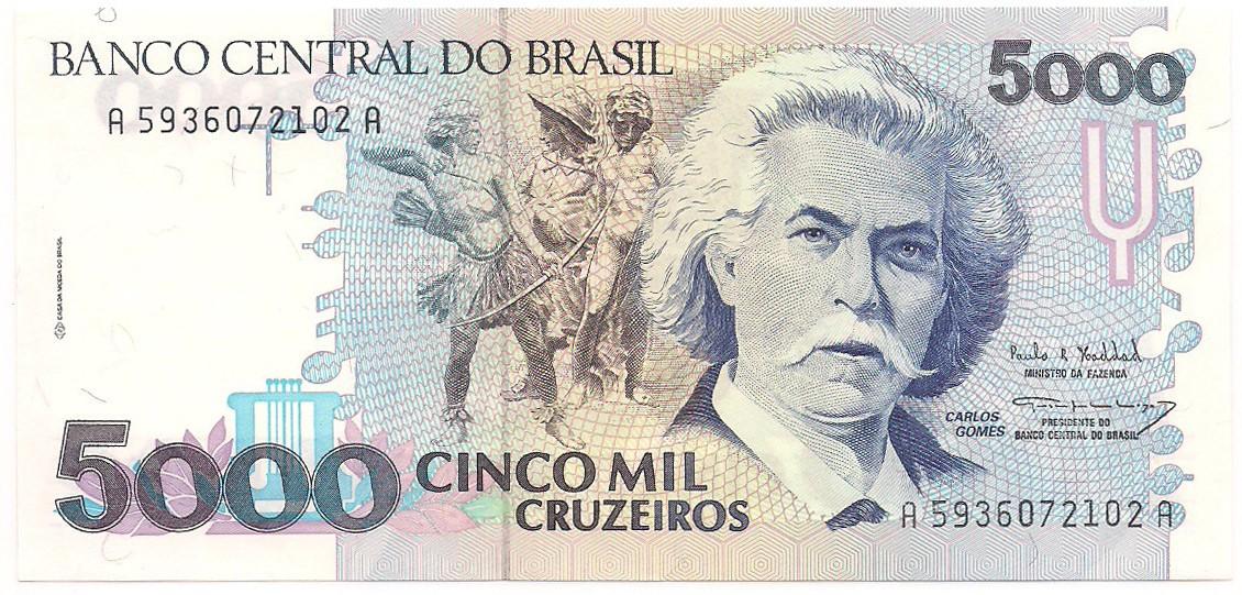 C-221 5000 Cruzeiros - FE 1993