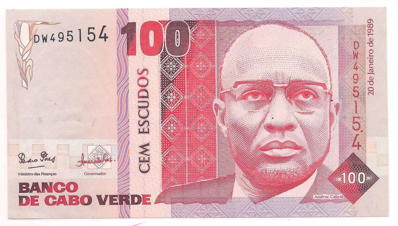 Cabo Verde - 100 Escudos - 1989 - FE