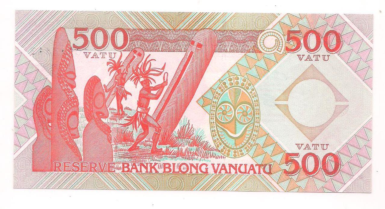 CÉDULA 500 VATU - 1993 - FE - VANUATU.