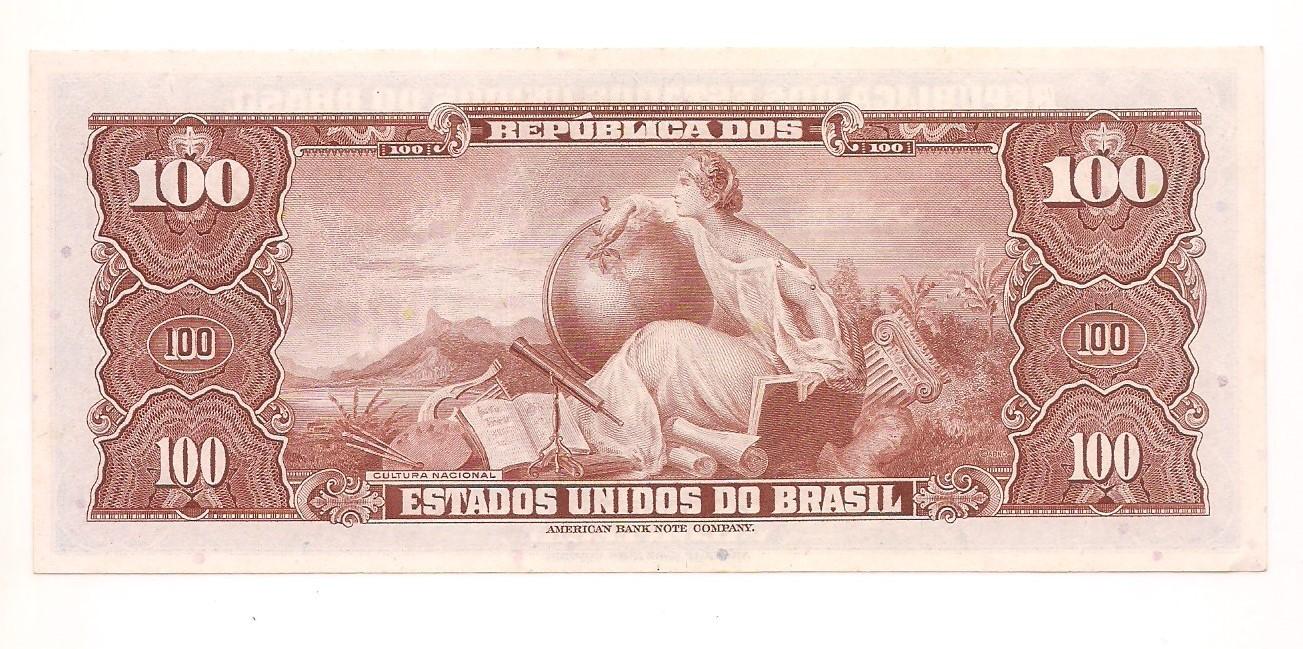 C-036 100 Cruzeiros 1964 - FE
