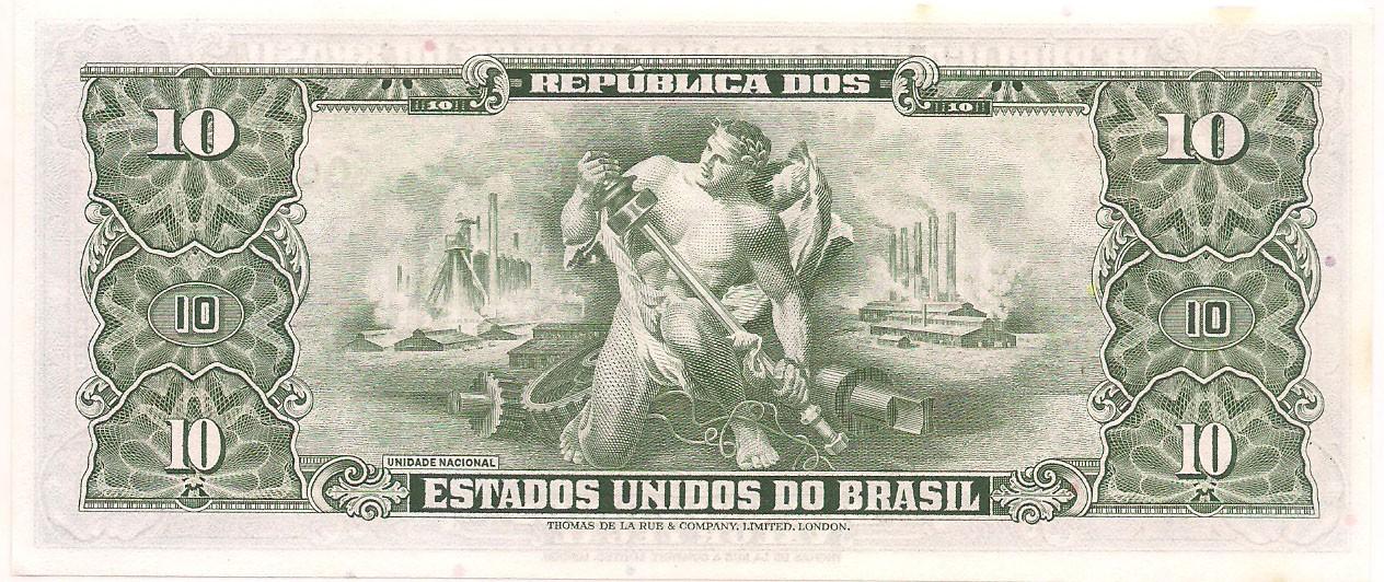 C-082 10 Cruzeiros 2° estampa - 1982 - FE