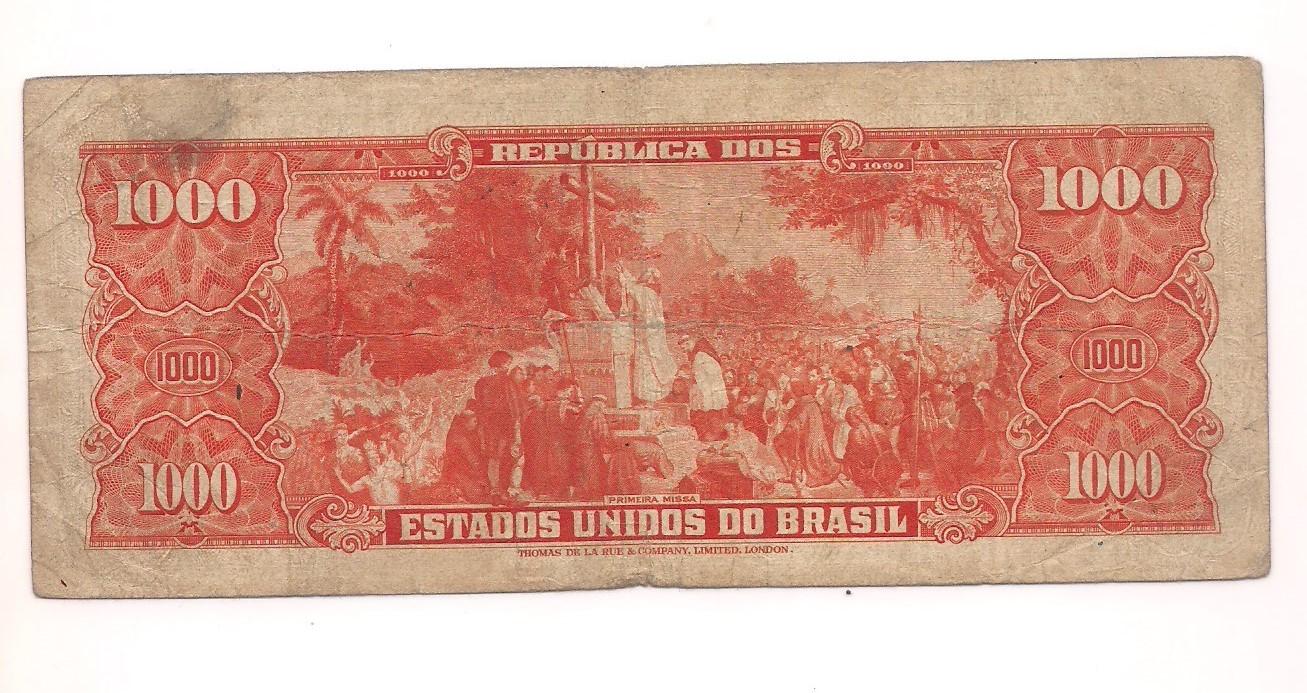 C-104 1000 Cruzeiros 2° estampa 1949