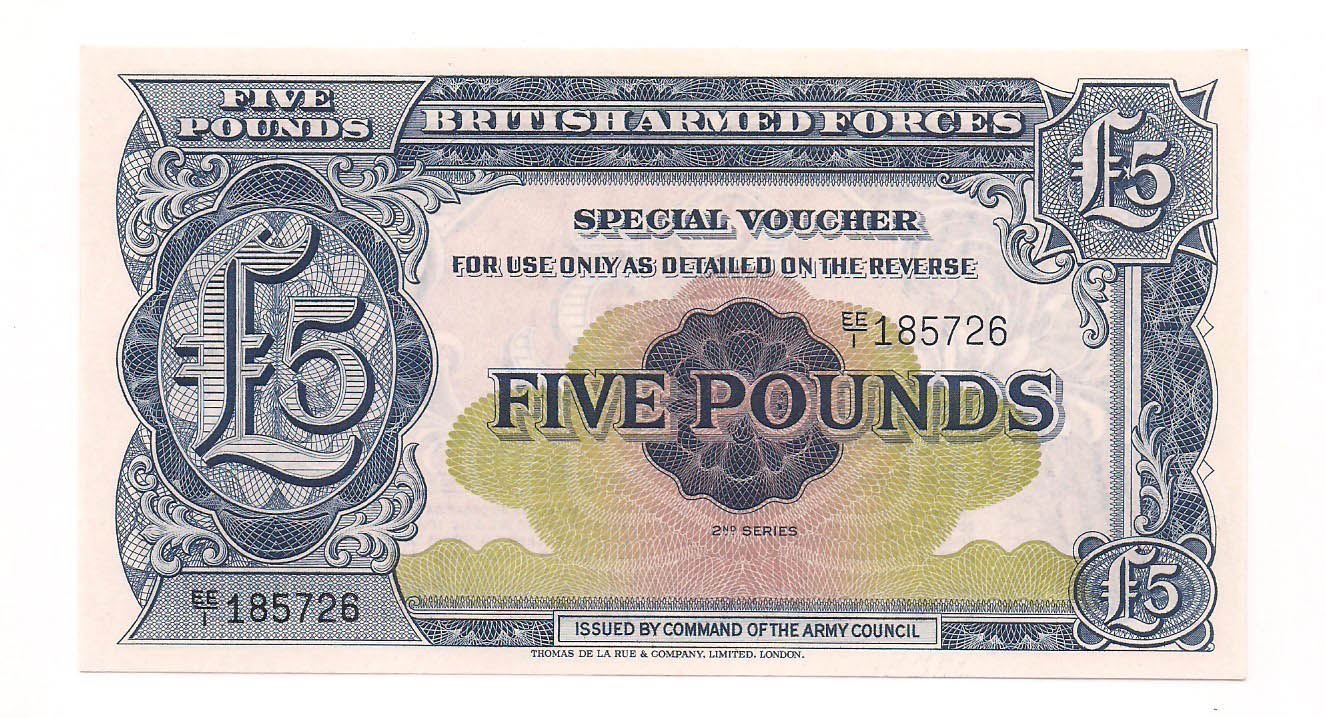 Forças Armadas do Reino Unido (British Armed Forces) - 5 Pounds FE