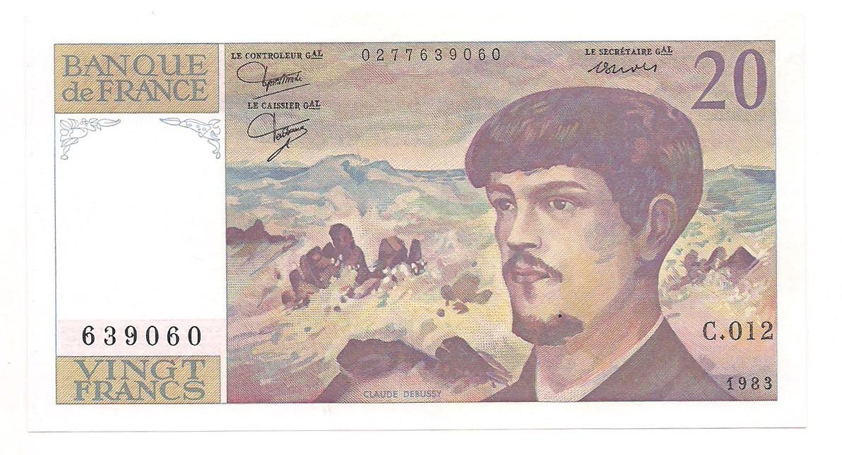 França - 5 Francs 1983 SOB-FE
