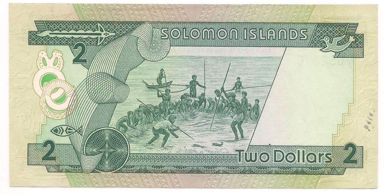 Ilhas - Salomão 2 Dólares 1986 - SOB/FE