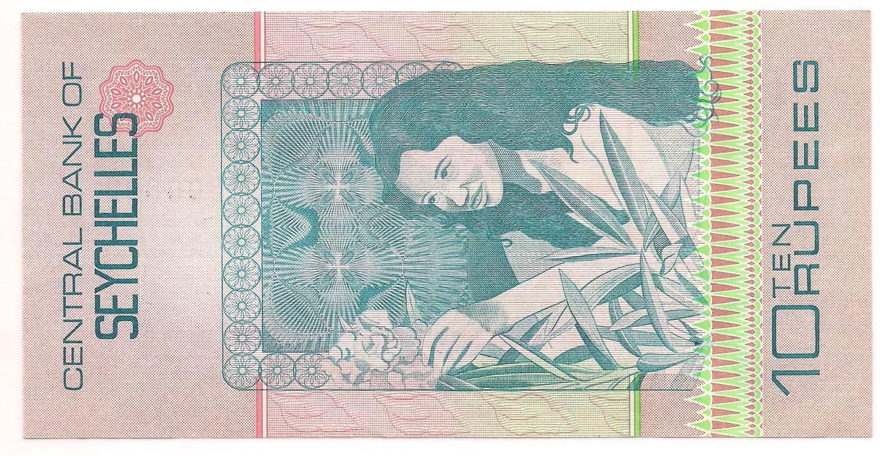 Ilhas Seychelles 10 Rupees 1979