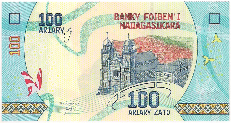 Madagascar - 100 Ariary