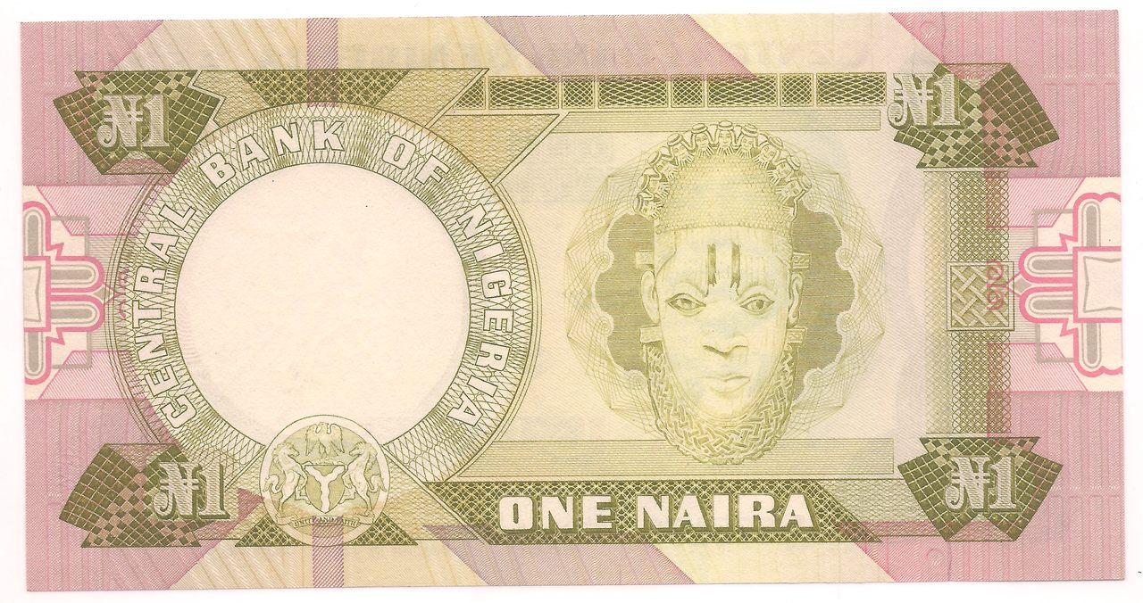 Nigéria 1 Naira - FE