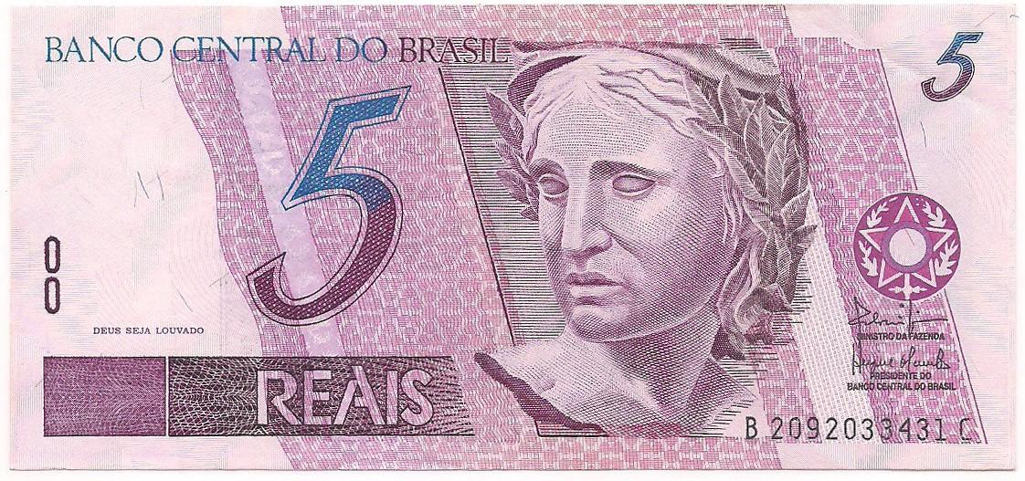 Primeira Família do Real - 5 Reais Série BC (Soberba)