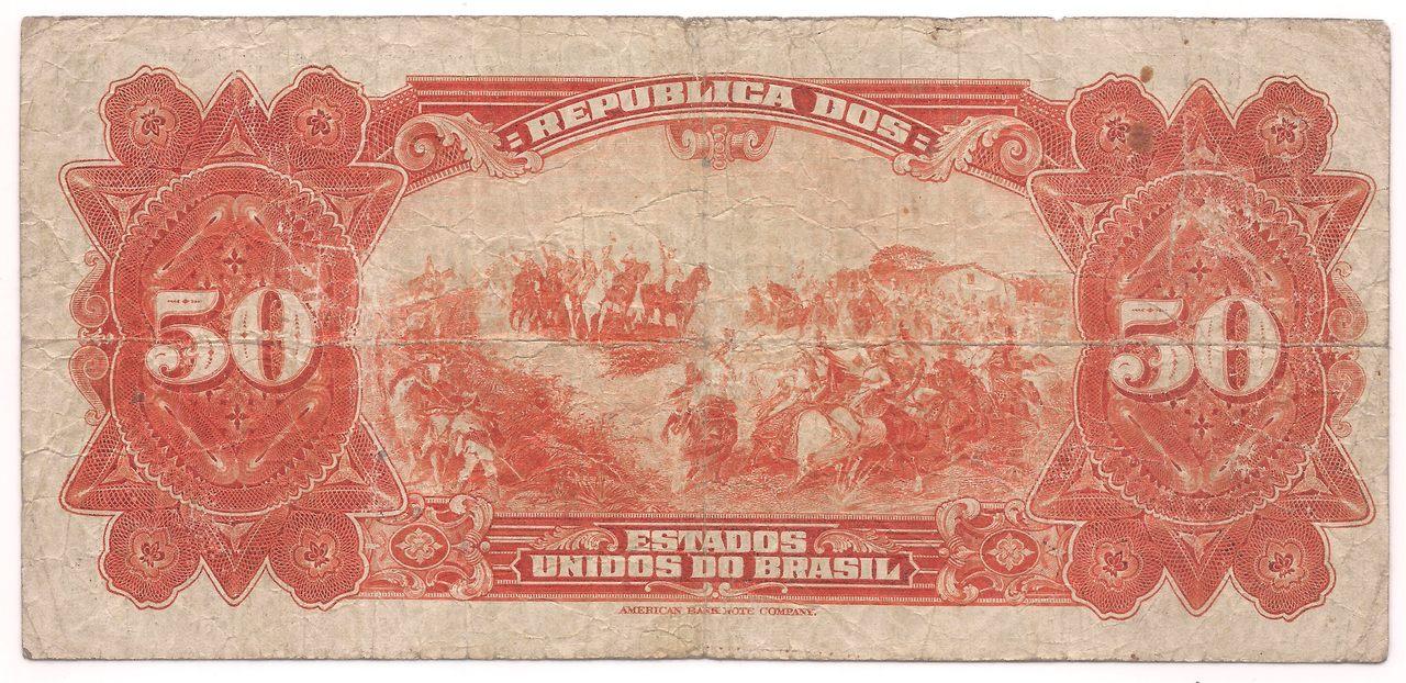 R-186 - 50 Mil (50.000) Réis - 1927