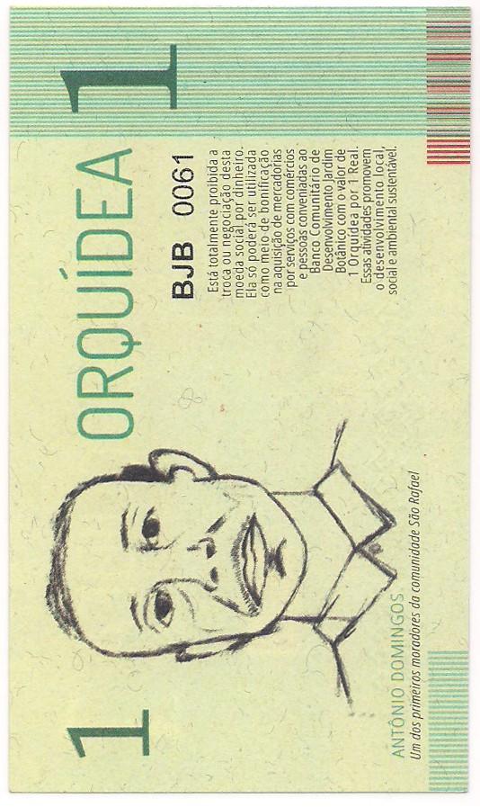 Série Banco Comunitário De Desenvolvimento Jardim Botânico, João Pessoa - PB (5 CÉDULAS por R$60,00)
