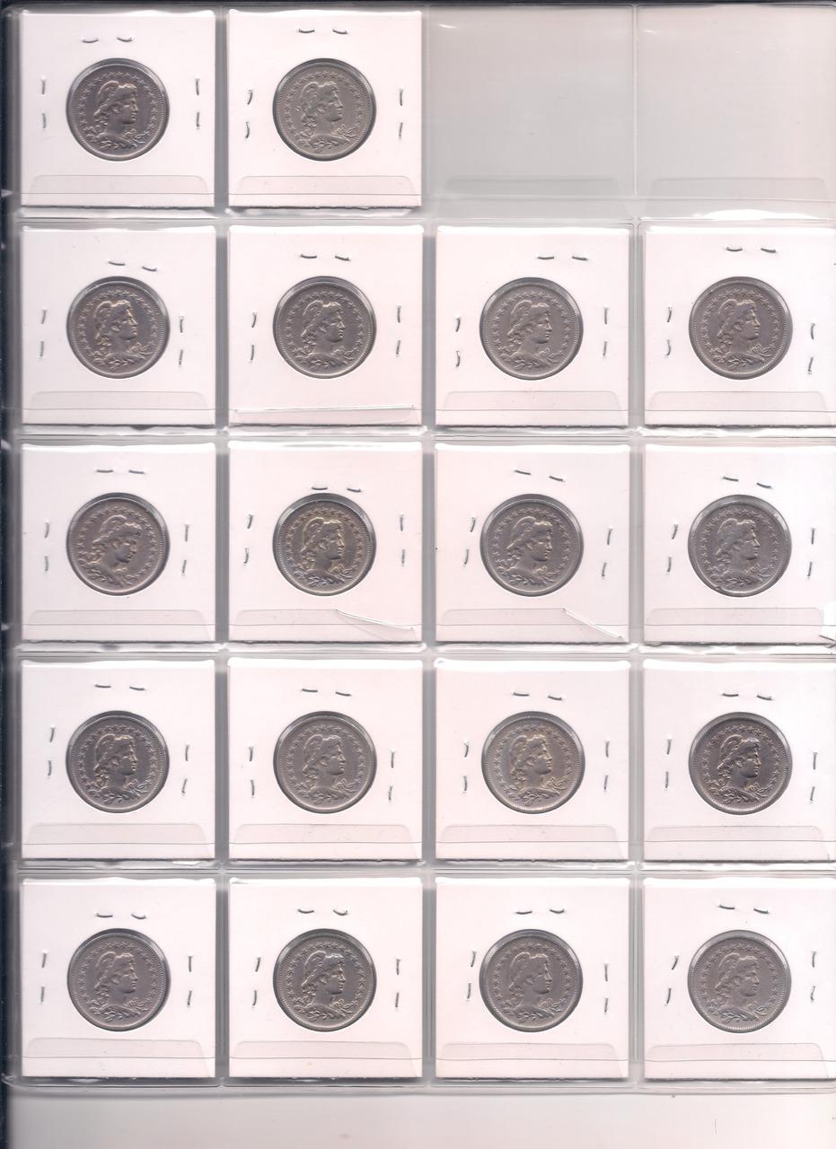 Série Completa 200 Réis - 1918 até 1935