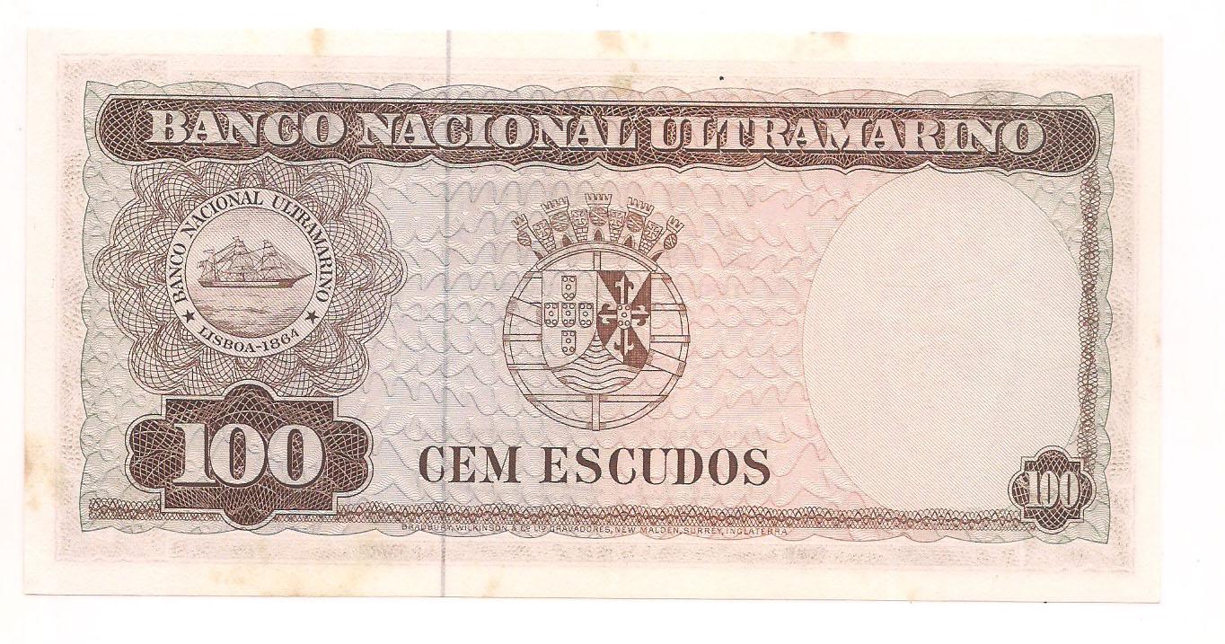 Portugal - Timor 100 Escudos 1963