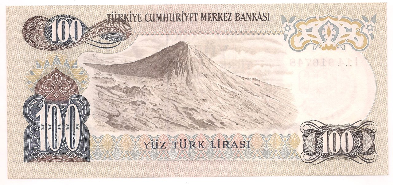 Turquia - 100 Lira 1970 - FE