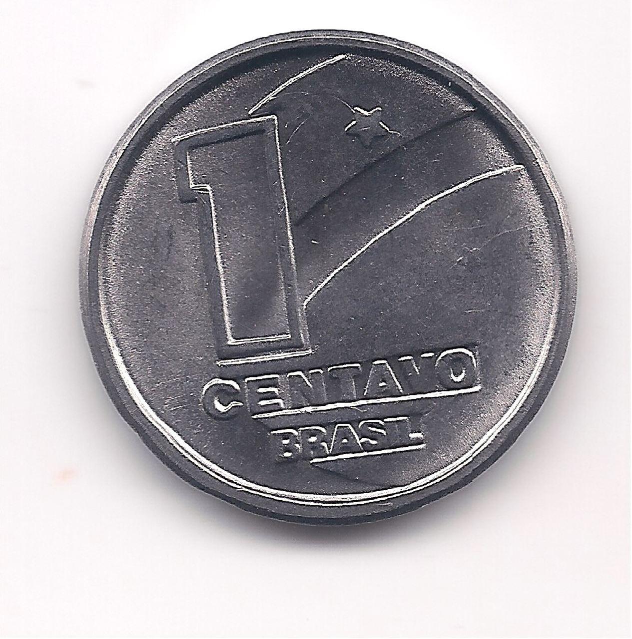 V405 - 1 centavo 1990 (Boiadeiro) SOB/FE