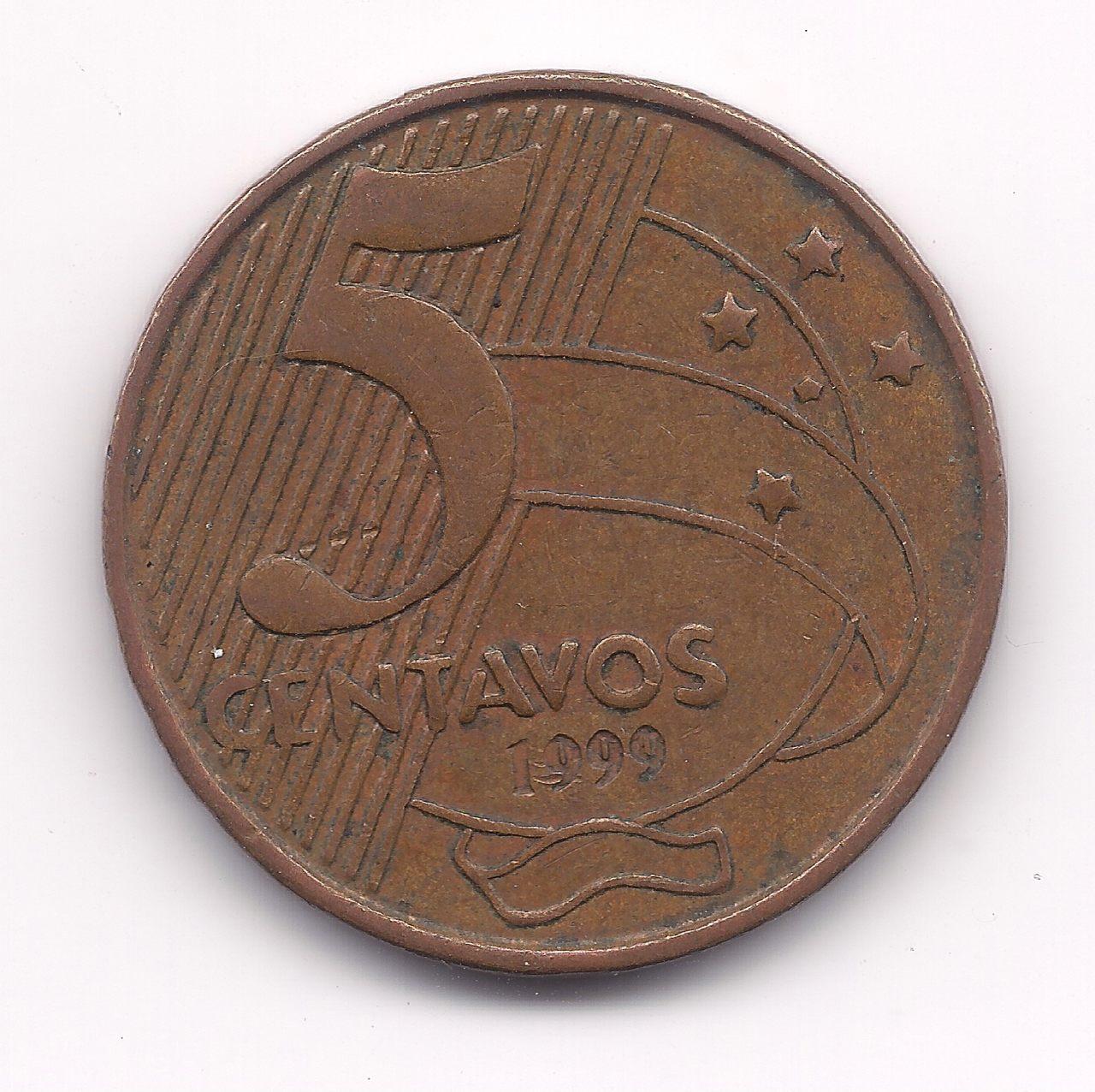 V465 - 5 Centavos 1999