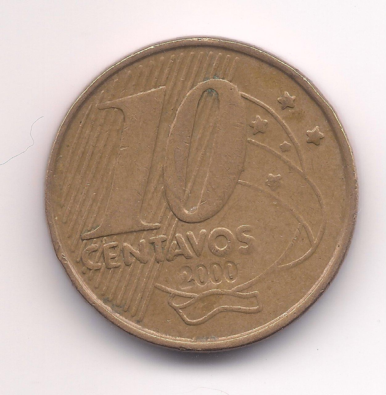 V487 - 10 Centavos 2000