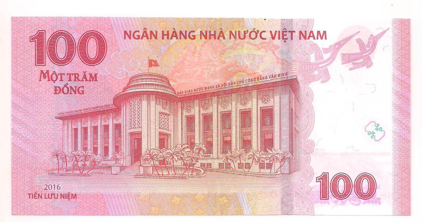 Vietnã 100 dong 2016